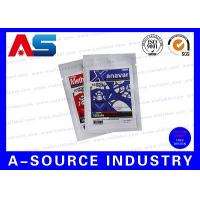 China Pharmaceutical Aluminum Foil Bags Zip Lock Pouch Printing for Oral Pills Pharmacy on sale