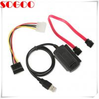 China SATA/PATA/IDE cable Drive to USB 2.0 For 2.5 / 3.5 Inch Hard Drive on sale