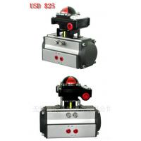 China pneumatic actuator with limit switch box APL-210N  electric pneumatic actuator on sale