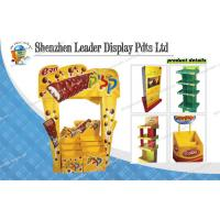 China Customized Corrugated Pos Chocolate Display Stands With Graphic on sale