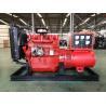 Hot sale 24KW/30KVA open diesel generating set powered by Ricardo diesel engine K4100D in red for sale