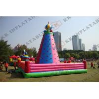 Wholesale Climbing Town Inflatable Climbing Sport Kids And Adults Playing from china suppliers