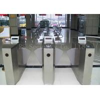 Wholesale IR Sensor Flap Barrier Gate Turnstiles Security Biometric Access Control System from china suppliers