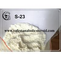 Safe Delivery SARMs White Powder S-23 for Increasing Muscle Mass with High Quality