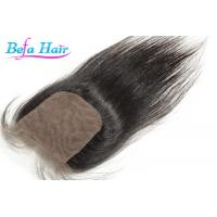 Wholesale Customized Odorless Human Hair Closure 20 Inch Brazilian Straight Hair from china suppliers