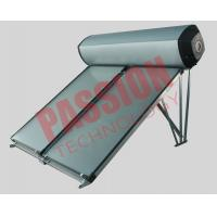 Wholesale Compact Swimming Pool Solar Water Heater Flat Plate Black Chrome Coating from china suppliers