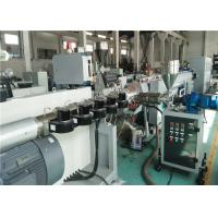 China Pp / PE Pipe Extrusion Line High Automation Level 20 - 630mm Tube Diameter on sale