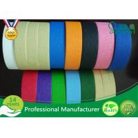 Wholesale Decoration Silicone Adhesive Craft Colored Masking Tape For DIY Industry from china suppliers