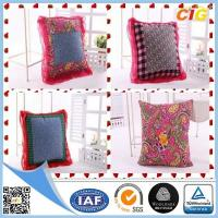 Buy cheap Customized Outdoor Cushion Covers , Sofa Seat Cushion Cover With Polyster And Cotton from wholesalers