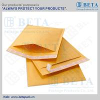 Wholesale BETA Golden Kraft Bubble Mailer #0 Ecolite Mailers With Strong Adhesive Tape from china suppliers