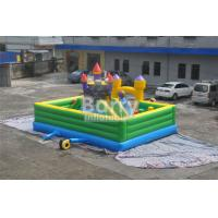 Wholesale Inflatable Fun City Castle Themed Amusement Park Inflatable Playground Equipment from china suppliers