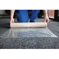 Buy cheap Anti Humidity Oil Paint 15m 500mm Carpet Protection Film Home Remodeling from wholesalers