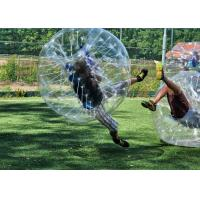 Wholesale Safe Outdoor Inflatable Toys Children Bumper Ball , Human Hamster Ball Bubble Soccer from china suppliers