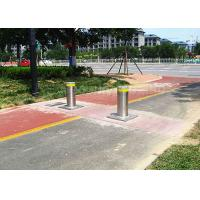 Wholesale Steel Automatic Lit Electric Bollards Barrier Remote Control Led Light from china suppliers