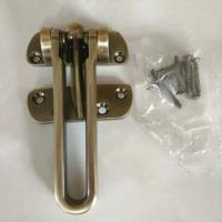 Quality Security hotel-style door guard zinc alloy latch available made of stainless steel for sale
