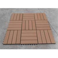 Wholesale Wood  Plastic Composite Portable Anti-slipping DIY Decking Tile from china suppliers