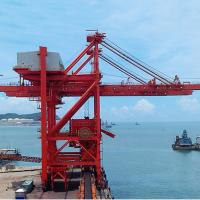China electric loading and unloading 35 ton quayside container gantry crane for sale on sale