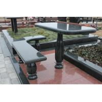 China China Latest Design Granite Table with Chairs on sale