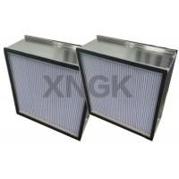 Wholesale Spary Room Fine Diaphragm Air Hepa Type Filter Aluminum Separator High Air Flow Rate from china suppliers