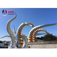 Buy cheap Customed Outdoor Holiday Inflatables Large Blow Up Octopus Festival Event from Wholesalers