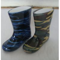 China Children camogue ankel rain boots,children rain boots,boys garden ankel roots on sale