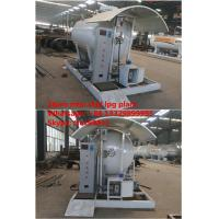 Buy cheap CLW brand mini 2tons mobile skid lpg gas plant for sale, factory direct sale smallest skid mounted lpg propane station from Wholesalers