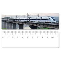 Wholesale Eco - Friendly Custom Printed Plastic Rulers / 3D Printing Service With Railway Pattern from china suppliers