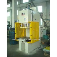 Buy cheap Sheet Hydraulic C Type Power Press Machines with Large Capacity from Wholesalers