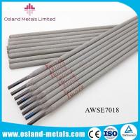 China Competitive Price Welding Electrode Rods AWS E7018 / Low Hydrogen Welding Electrodes on sale