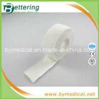 Buy cheap 2.5cm white colour 100% cotton elastic adhesive bandage thumb tape from wholesalers