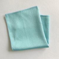 Wholesale 80% polyester 20% polyamide diamond window glasses cleaning towels from china suppliers