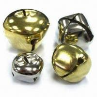 Wholesale X-shaped Jingle Bells with Brass-plated Finish from china suppliers