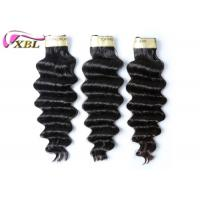 Wholesale Thick Bottom Virgin Brazilian Hair Loose Deep Wave Natural Black 100 Virgin Hair Bundles from china suppliers