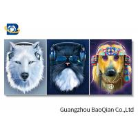 Wholesale Clear Vivid Animal 3d Photo For Home Wall Decor , 3d Flipped Changing Wall Art from china suppliers