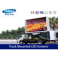 Wholesale Outdoor P16 Truck Mounted LED Screens , High Definition Trailer Mounted Led Screen from china suppliers