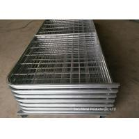 Wholesale Galvanized Pipe Frame Farm Mesh Fencing Easy Install With I / N Type from china suppliers