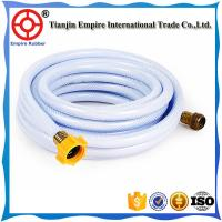 Wholesale 4 inch W.P 4 bar 6bar PVC irrigation lay-flat hose polyester fiber pvc rubber red orange or customized from china suppliers