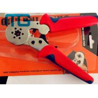 Wholesale 180mm Hand Crimping Tool 24-10 AWG , MG-8-6-6 Carbon Steel Non Insulated Crimping Pliers from china suppliers