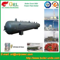 Wholesale Fire Proof Induction Boiler Mud Drum , High Performance Water Drum In Boiler from china suppliers