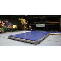 Wholesale Double Wall Fabric Material Inflatable Crash Mat Inflatable Gym Equipment 12*6m from china suppliers