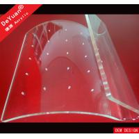 Wholesale Clear Earrings Acrylic Jewellery Display Stands Holder Hot Bending from china suppliers