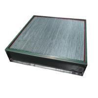 Wholesale Clean Room High Temp Hepa Filter Absolute Filter With Aluminum Foil Separator from china suppliers