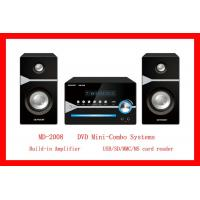 Wholesale USB Amplifier DVD Mini-Combo System (MD-2008) from china suppliers