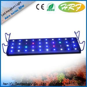 China HRF 1200mm 1500mm 1800mm LED aquarium light High color temperature 12000K marine fish tank led lights on sale