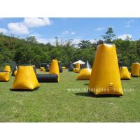 Wholesale Outdoor Sports Games inflatable Bunker Paintball Sup Air Field For Fun from china suppliers