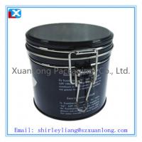 Wholesale Round airtight coffee tin can from china suppliers