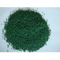 Buy cheap EPDM Green Coloured Rubber Crumb For Professional Training Grounds from wholesalers