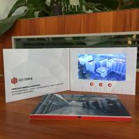 Quality Printing Video Booklet, Booklet With Smart buttons / video business card for sale