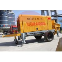 Wholesale Mobile Stationary Concrete Pump , 30m3 / H Trailer Mounted Concrete Pump from china suppliers