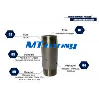 Buy cheap ASTM A106 F317L Forged High Pressure Stainless Steel Pipe Fittings / Threaded from wholesalers